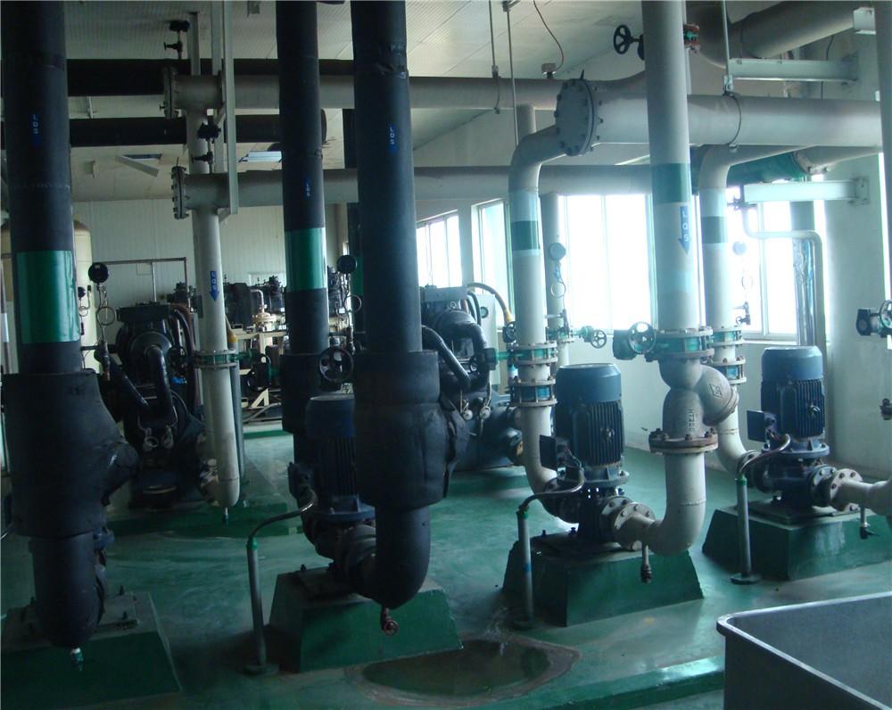 工业冷水机安装